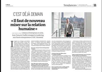 Adrienne Surprenant - Le Monde (2016)