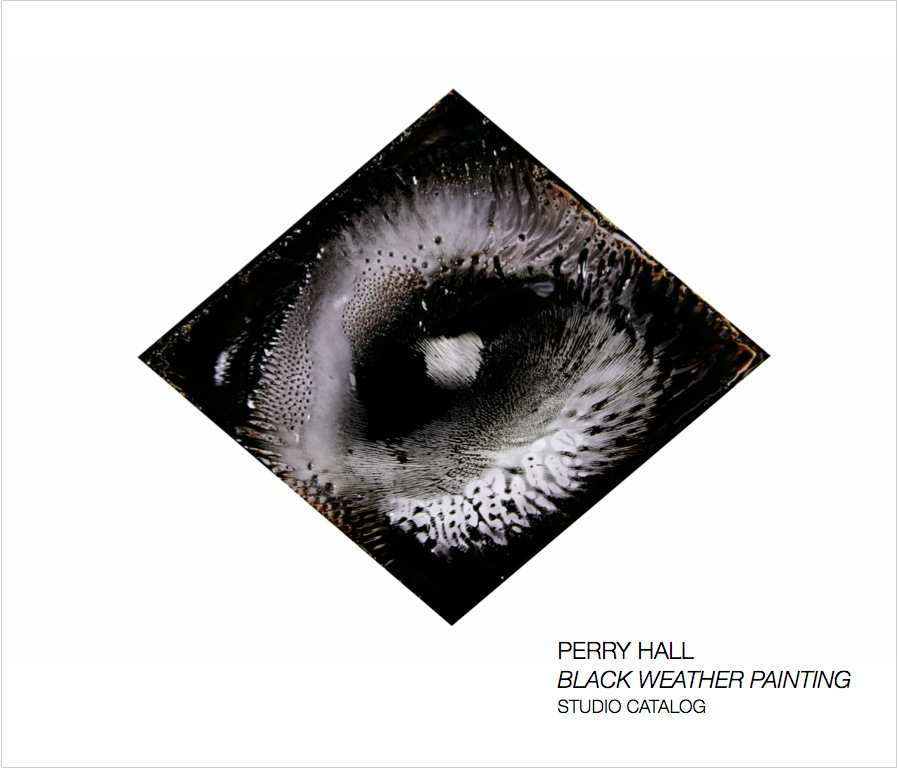 PERRY HALL STUDIO - BLACK WEATHER PAINTING Print series from the painting film Black Weather Painting, oil, acrylic and various paints filmed live by artist Perry Hall. 2016. 52 pages with 43 full-color images printed on ProPhoto Lustre-Finish White paper. 10 x 8 inches (Landscape). Softcover and high quality PDF download. To Purchase and book preview: http://www.blurb.com/b/7830348-black-weather-painting