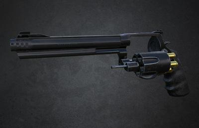 Angel Guevara Art - 460 XVR Hand Cannon