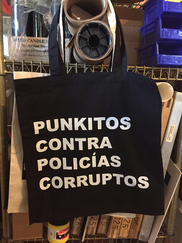 Punkitos Photos - Corruptos Tote - 14x15 $10.00 *SOLD OUT