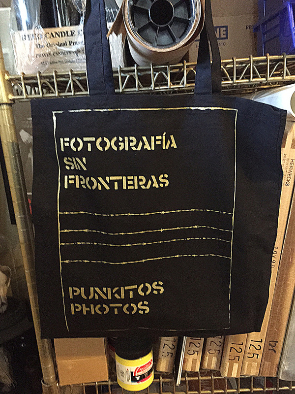 Punkitos Photos - Fronterra Tote - 14x15 $10.00 *SOLD OUT