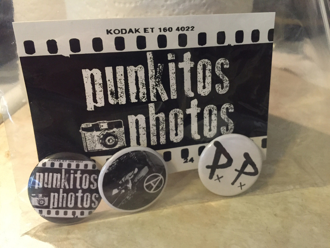 Punkitos Photos - Punkitos pack - sticker with pins! pins include: P.P. Punkitos logo and Tanzkommando Untergang $5.00