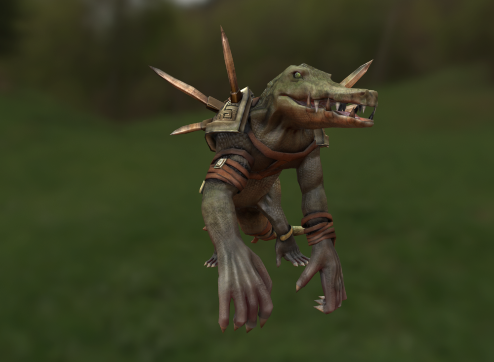 Joels Portfolio - GrocodileLow-poly model made in 3DS Max | Detailed in ZBrush | Maps generated using xNormals | Maps modified in Photoshop | Final Render in Marmoset Toolbag. 9,502 tris. 2015.Click for additional images