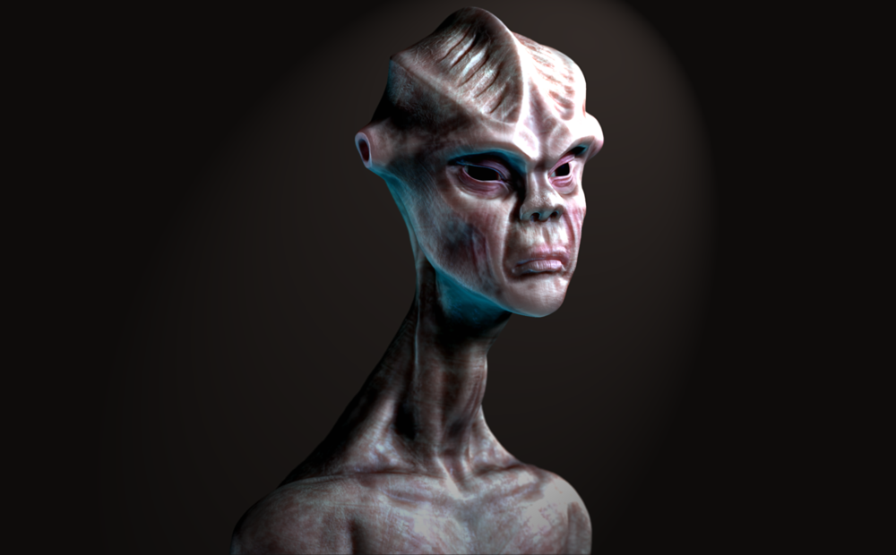 Joels Portfolio - Modeled, painted, and rendered in ZBrush | Post-Processing in Photoshop. 2015.