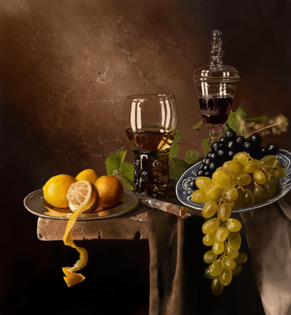 Joels Portfolio - Painted in Photoshop. 2014.