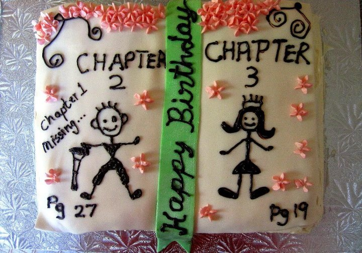 Simply Cakes - Birthday Party - Book Style Cake