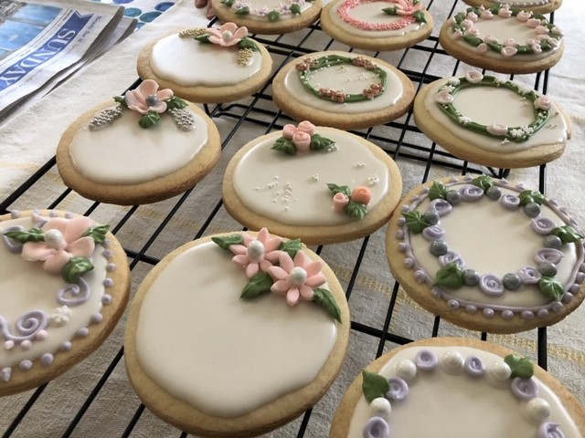 Simply Cakes - Bridal Shower cookies - all uniquely designed!