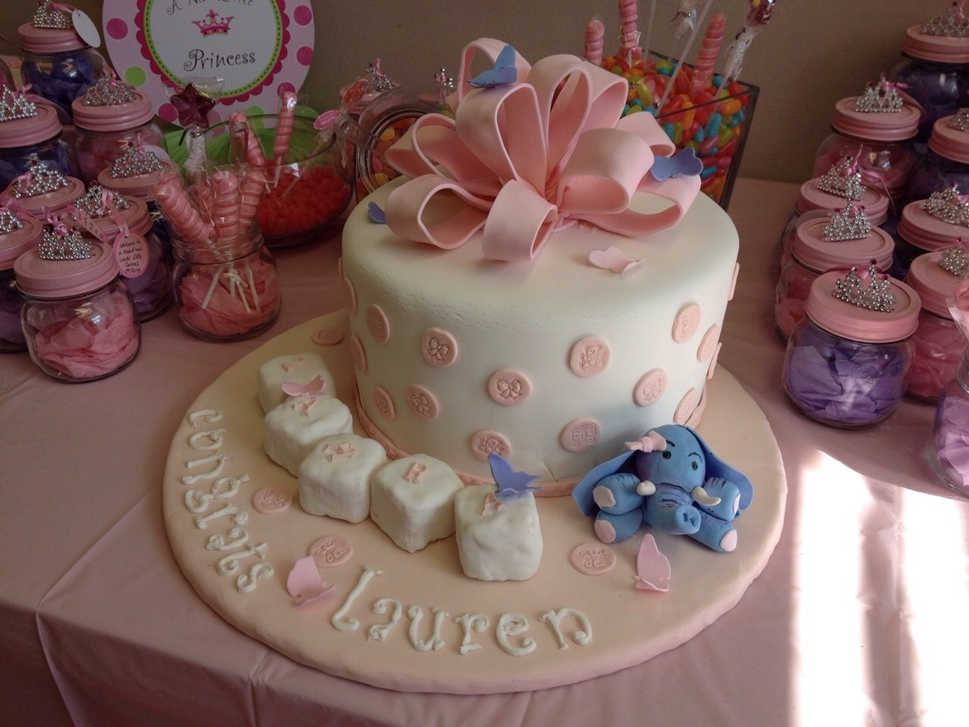 Simply Cakes - Baby Shower - Its a Girl!