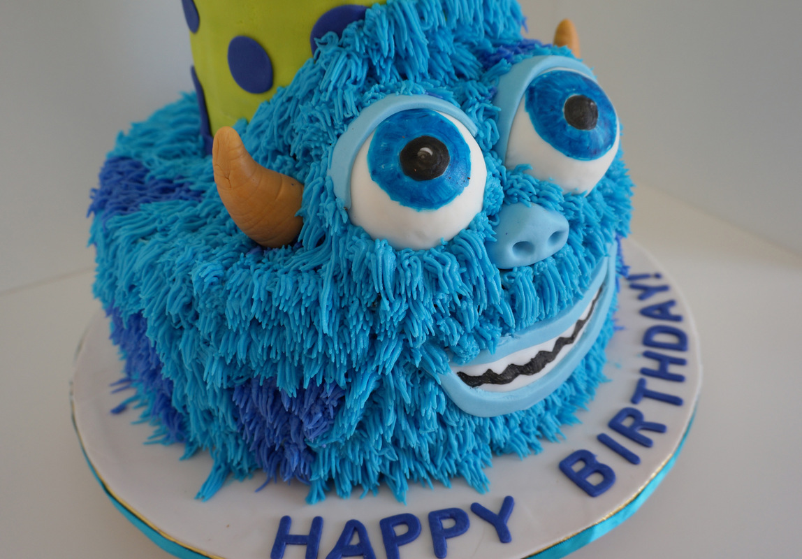Simply Cakes - Monsters Inc. 1st Birthday Cake!