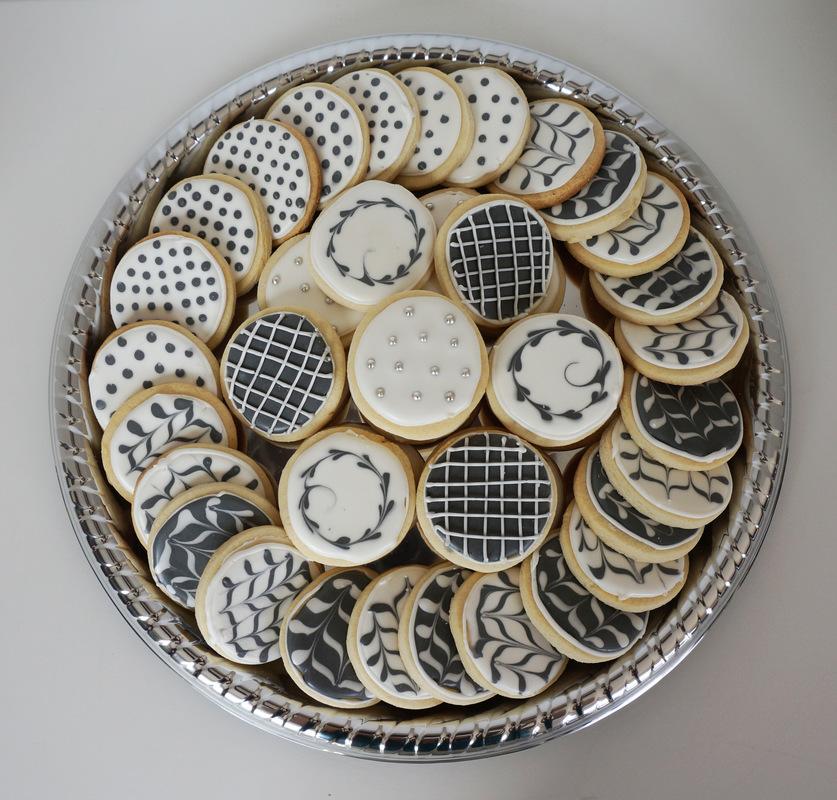 Simply Cakes - Tuxedo Birthday Sugar Cookies