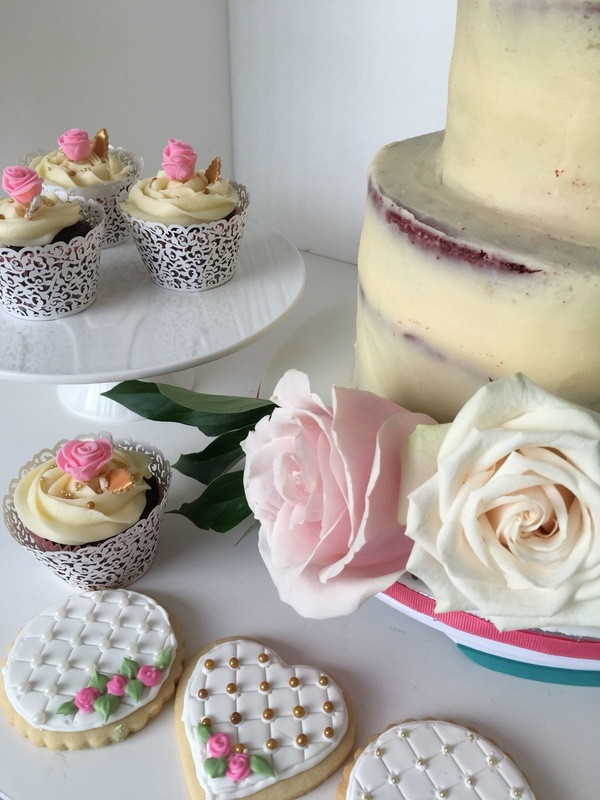 Simply Cakes - Vintage Bridal Shower cake and desserts