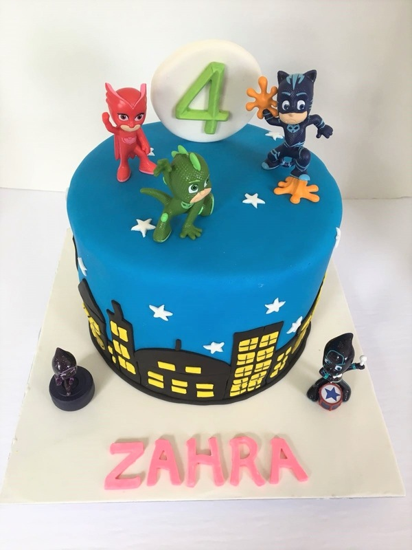 Simply Cakes - PJ masks cake for a very special 4 year old