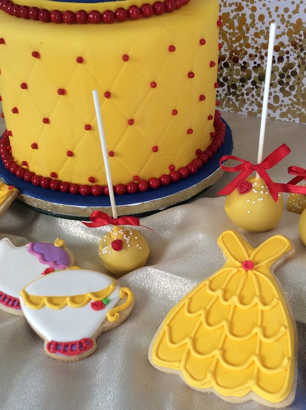Simply Cakes - Collection of Beauty and the Beast themed desserts