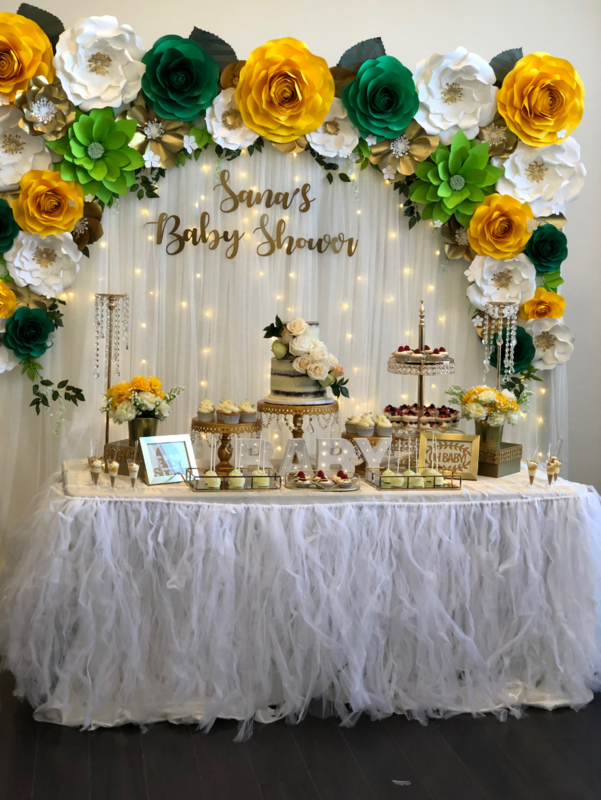 Simply Cakes - Dessert table by the client and desserts by Simply Cakes