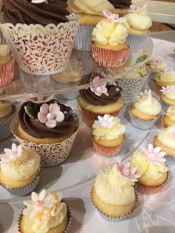 Simply Cakes - Chocolate, lemon, vanilla, and coconut flavoured cupcakes