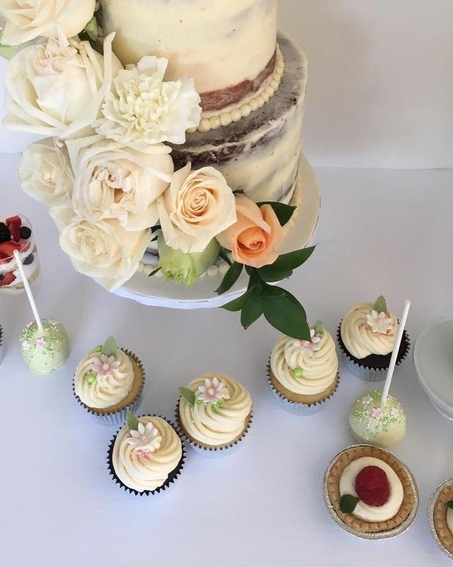 Simply Cakes - Dessert collection for a neutral baby shower