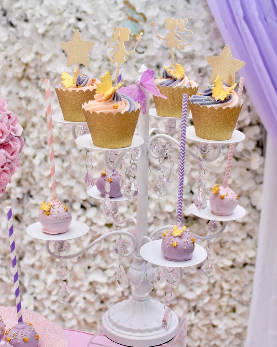 Simply Cakes - Fairy themed cake pops and cupcakes. Custom toppers provided!