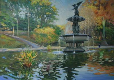 Angresano Studio - Trevi Fountain early Morning
