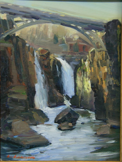Angresano Studio - Patterson Falls , late afternoon