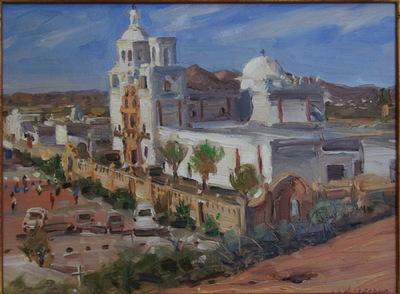 Angresano Studio - San Xavier Mission , Arizona