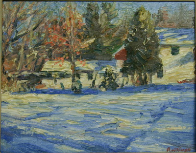 Angresano Studio - Winter , Brooks Farm