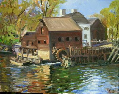 Angresano Studio - The Mill at the Restoration Center