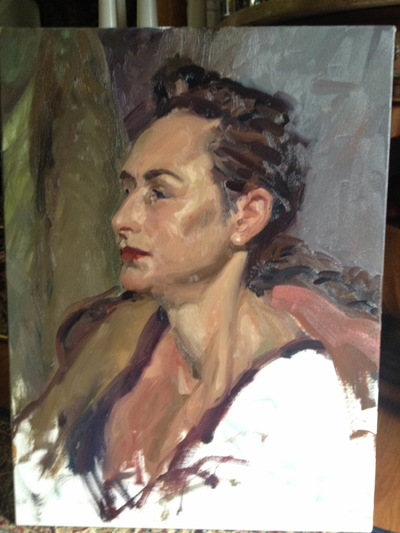 Angresano Studio - Elana 18x24 Oil