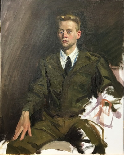 Angresano Studio - The Soldier 18x24 Oil