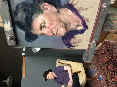 Angresano Studio - The Man in the Black Hat