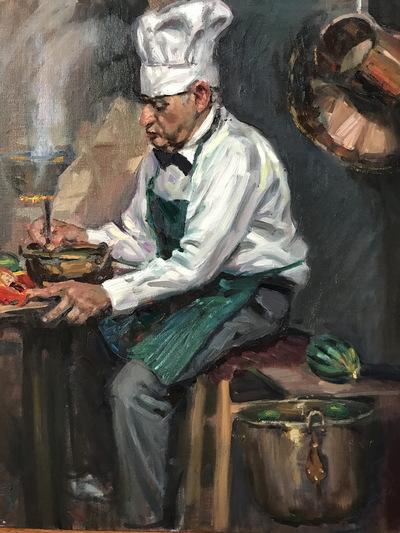 Angresano Studio -  The Chef