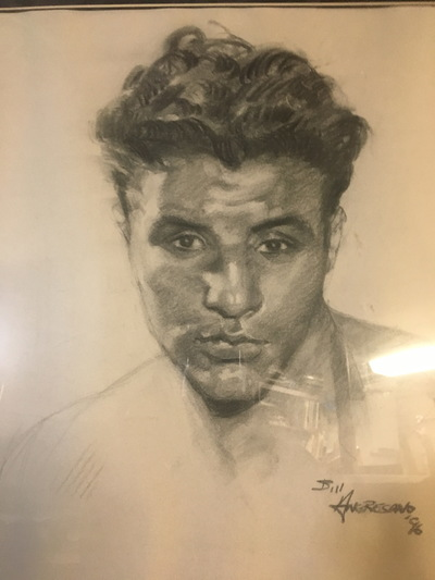 Angresano Studio - Young Jake LaMotta