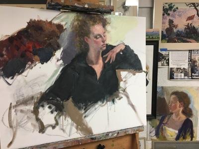 Angresano Studio - Gabrielle , study