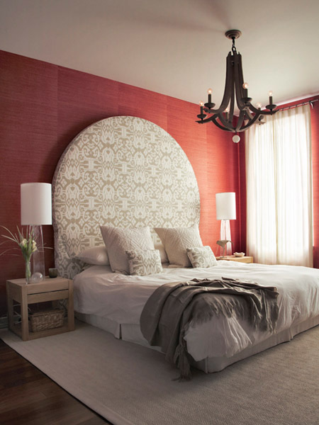 Raine Heidenberg Interior Design New York Brooklyn Montauk - Custom Headboard