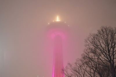 Damon Lum Photography - Light Saber, Skylon Tower - Niagara Falls, Ontario