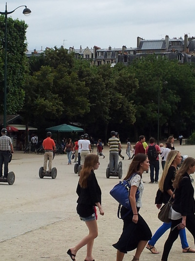 Damon Lum Photography - Lets Segway to Champs de Mars.