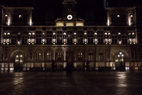 Damon Lum Photography - Silhouette, Hôtel de Ville, Paris