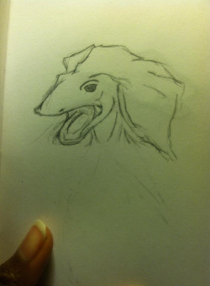 Toni Reid Art - Random lizard creature