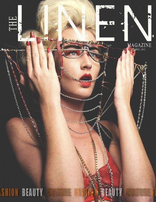 C.ROMAN - Linen magazine cover & spread. Spring 2012.