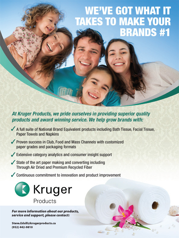 Brad Hofbauer - Graphic Design & Photography - Kruger Products - Magazine ad & product photography