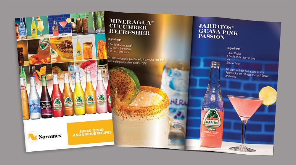 Brad Hofbauer - Graphic Design & Photography - Jarritos/Novamex drink recipe booklet
