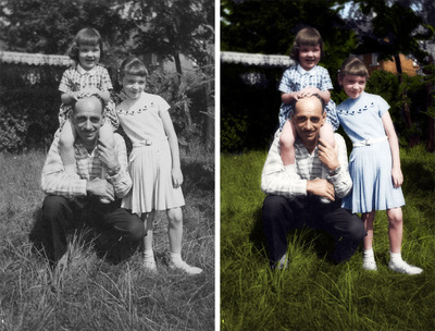Brad Hofbauer - Graphic Design & Photography - Photo colorization