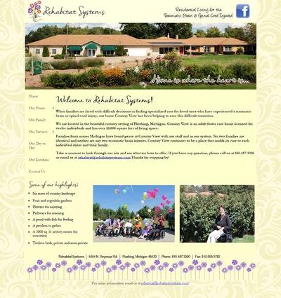 Camille Coleman - Web design - www.rehabitatsystems.com