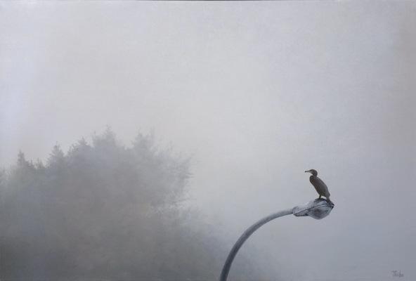 robert thibault - Le cormoran 24 po x 36 po