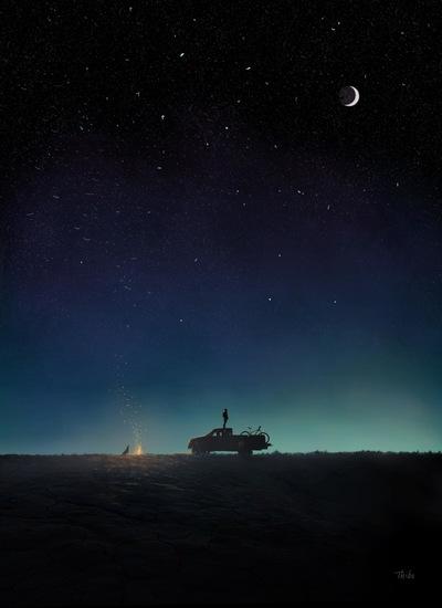 robert thibault - Lhomme dans la lune