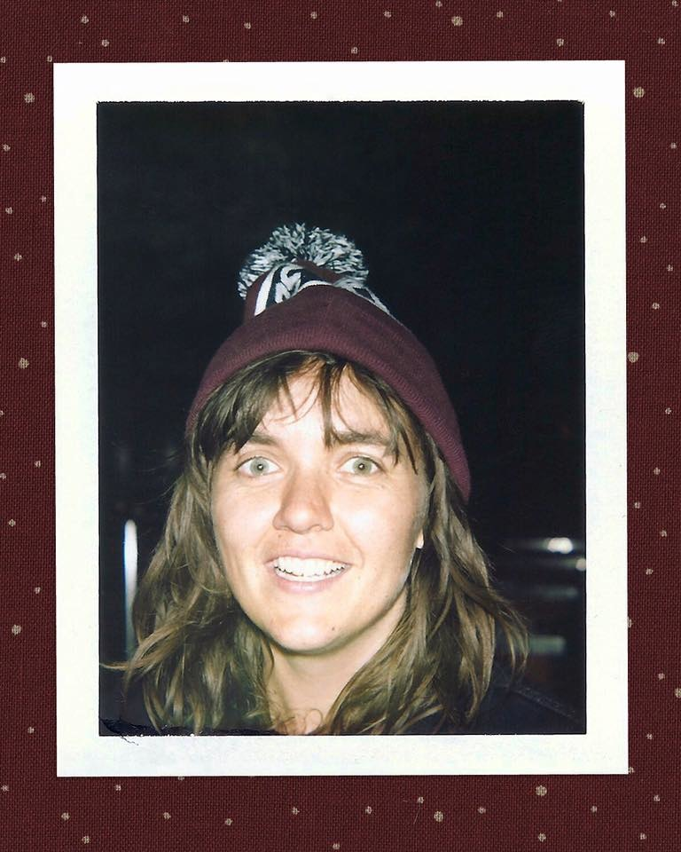 Brian Garbrecht - Courtney Barnett. Chicago, IL. 2016. Instant Film