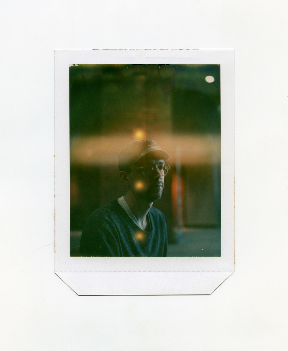 Brian Garbrecht - Ryan Expired Polaroid type 58 4x5 instant film. 2018