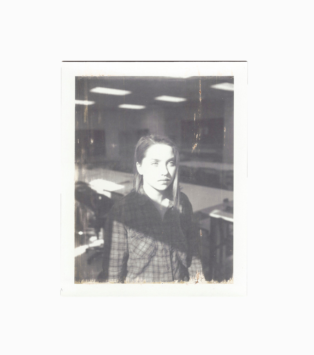 Brian Garbrecht - Art School Expired Polaroid instant film. 2016