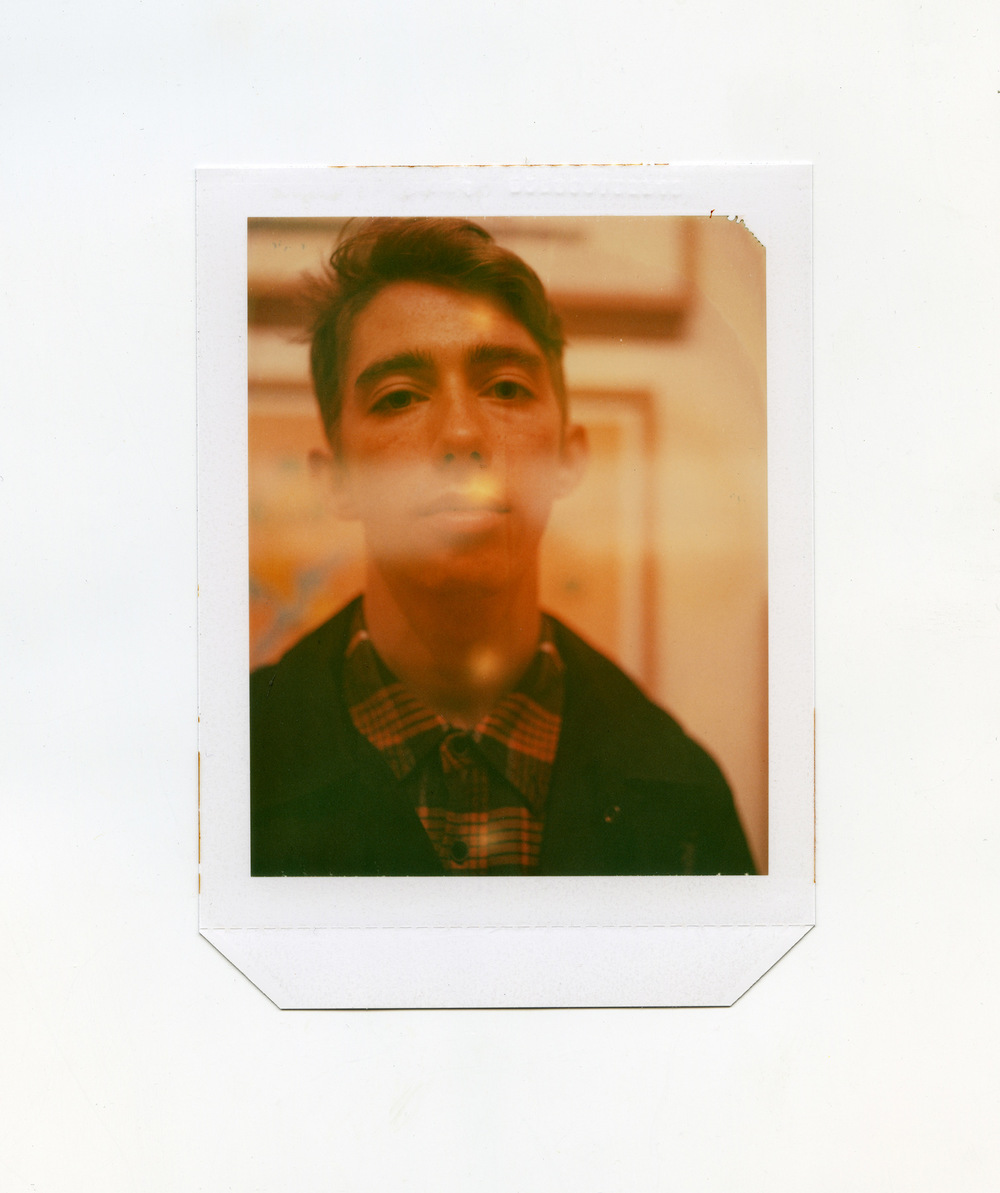 Brian Garbrecht - Jake Expired Polaroid type 58 4x5 instant film. 2018