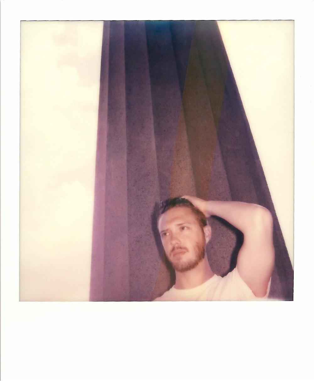 Brian Garbrecht - Parthenon Polaroid 600 instant film. 2016