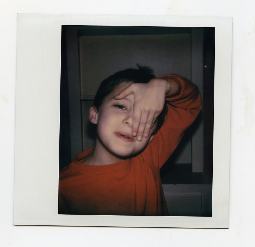 Brian Garbrecht - Eye On Impossible Project Spectra instant film. 2017